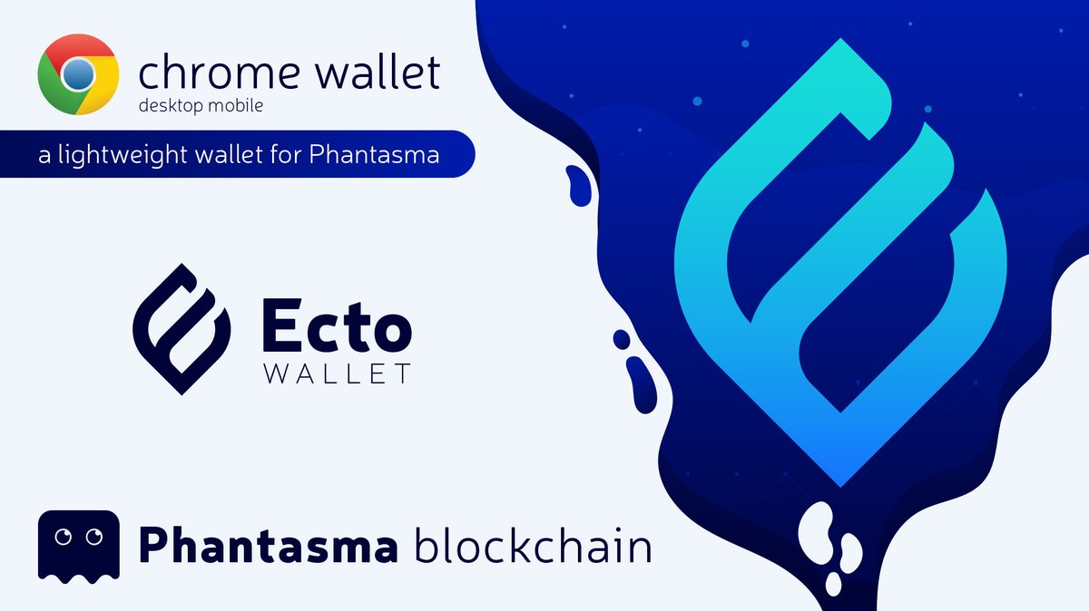 Ecto wallet for Phantasma is now live on Google Chrome web store! $SOUL $KCAL #N... 2