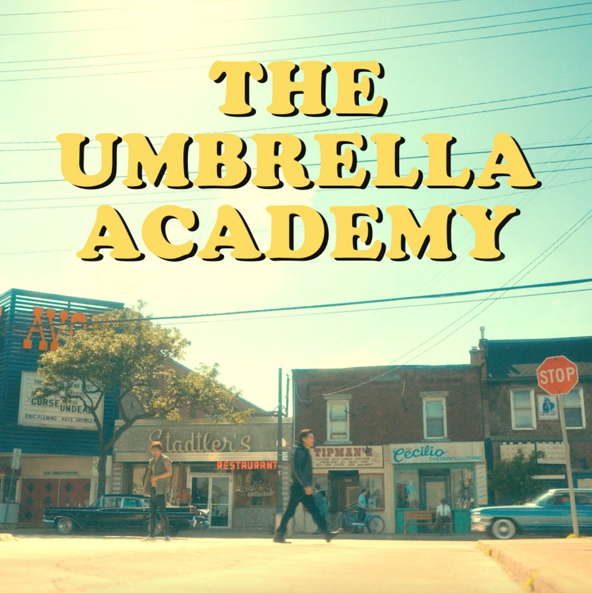 The Umbrella Academy! Coming to a Silvertone Omega near you! ... 2