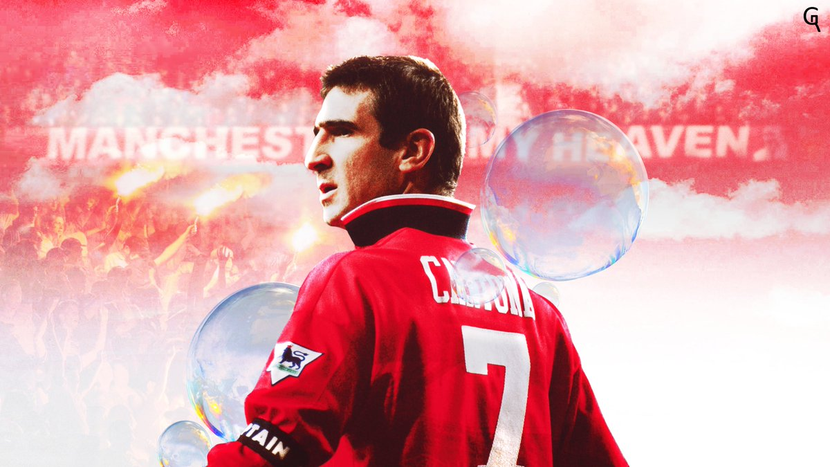 Photo collection for cantona including photos, eric cantona wallpaper, eric cantona kick and eric cantona. Ronaldo On Twitter Eric Cantona Wallpaper 178 Games 81 Goals 61 Assists Not Bad Not Bad At All