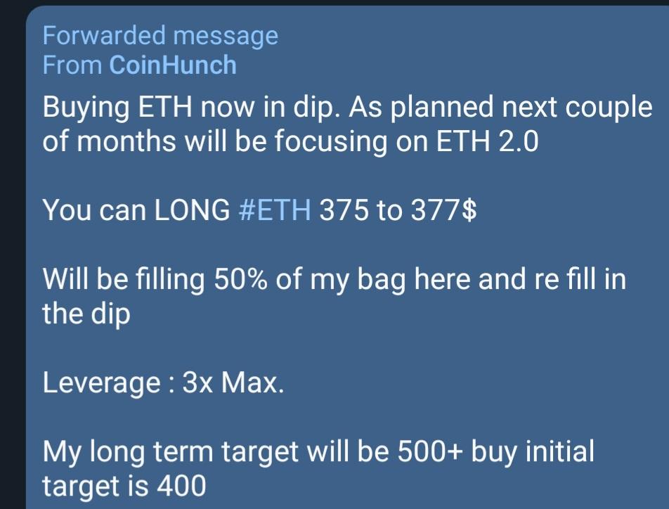 $ETH 38% profit in 2 days Join telegram for free signals   $BTC $XRP $XLM $VET $... 2