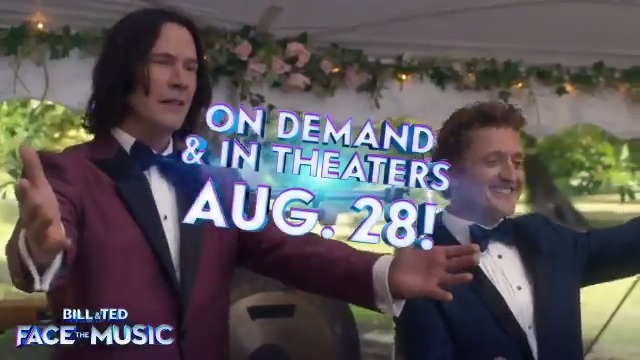 @TimeTravelNexus, excellent decision, dude! Look out for our Tweet on 8/28 when Bill & Ted Face the Music is available On Demand and in theaters. #BillAndTed3 #FaceTheMusic