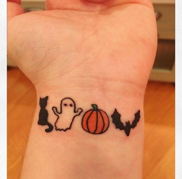 People give each other crazy tattoos on 'how far is tattoo far?' but are the crazy tattoos real or fake on the reality show? Entertainment Mesh On Twitter 20 Small Halloween Tattoos Design Ideas Https T Co Jy2x856bwx Halloween Halloween2020 Halloweentattoos Halloweentattoo Smallhalloweentattoo Smallhalloweentattoos Smallhalloweentattooideas