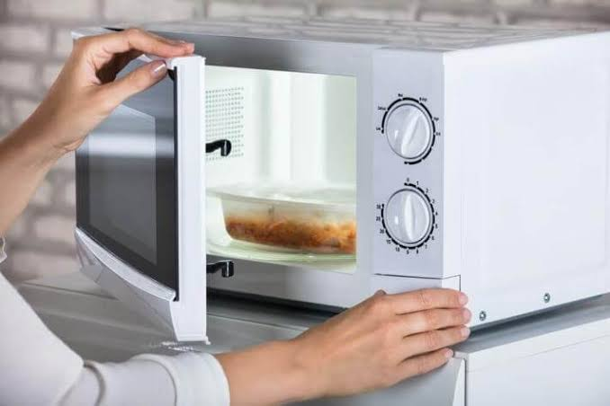 ever heated food in microwave oven