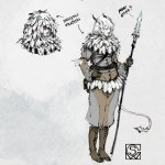 Shawn G Wood On Twitter These Are Probably The Earliest Sketches Done For Rime Of The Frost Maiden We Knew We Wanted Wizards And We Knew It Was Going To Be Cold
