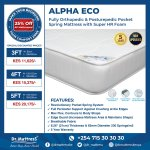 Dr Mattress Kenya On Twitter At Drmattress We Re Constantly Innovating The Way You Sleep Check Out Our Alpha Eco Pocket Spring Mattress At The Cost Of A Foam Mattress Now At A