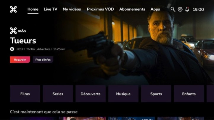 test Twitter Media - Proximus launches Android TV service with 3SS https://t.co/1y1UxgXfRN https://t.co/1kIPYcG5yx