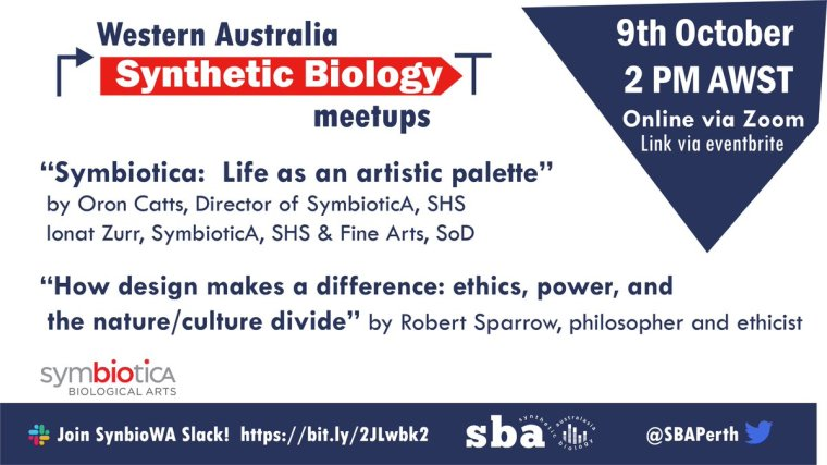 Another great #synbio meet-up!! Register now & pop it in your calendar!!!
