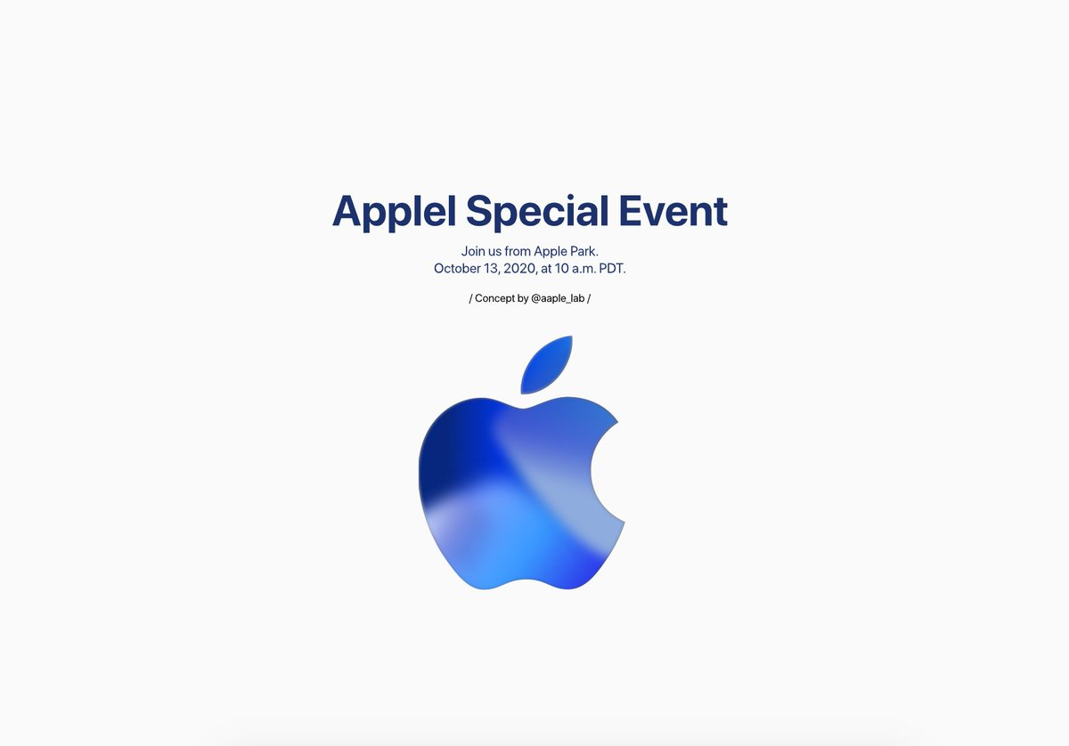 14, tends to feature new iphones. Apple Lab On Twitter Not Official Information Apple Special Event October Reveal Date 30 September Date 13 October Place Steve Jobs Theater Apple Park Format Online