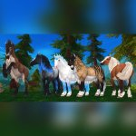 Star Stable On Twitter Which Of These Jorvik Wild Horses Are You Ready To Bond With Jorvikwildhorse Ps These Beautiful Horses Will Not Change Color This Is Their Only Coat