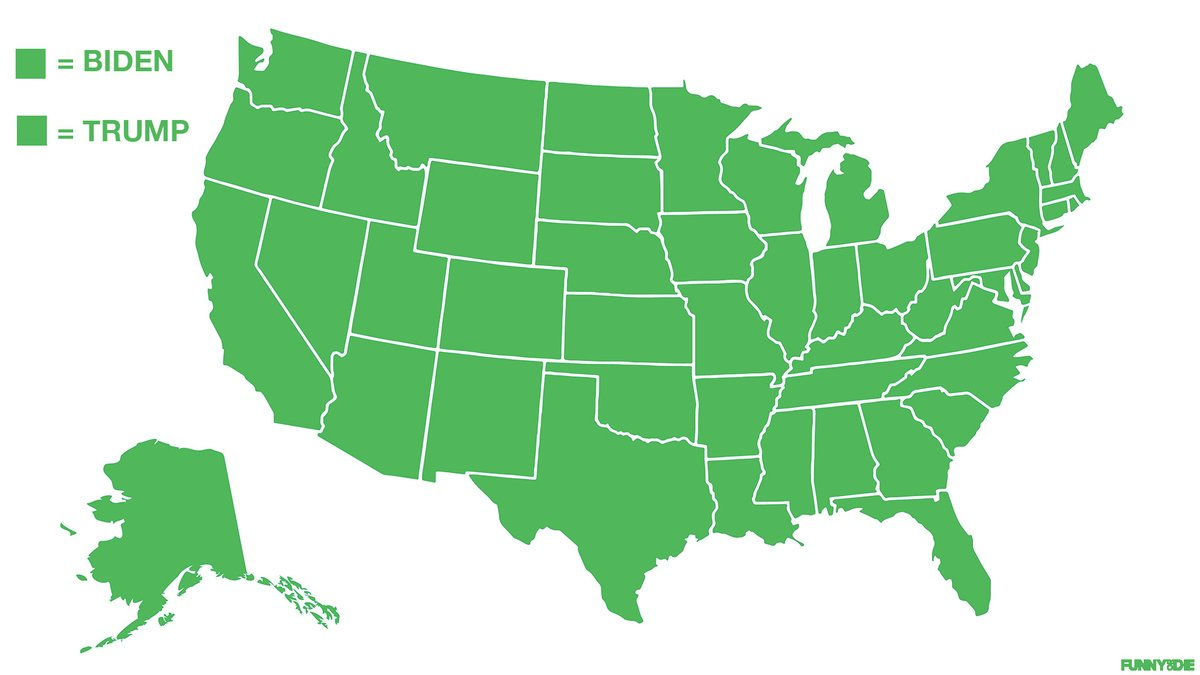 Maps map judgmental judgemental judgmental map judgmental maps judgemental map judgemental maps funny satire geography usa united states. Funny Or Die On Twitter Whoa This Is What The Electoral Map Would Look Like If We Accidentally Used The Same Color For Republicans And Democrats Https T Co Yqfdhvmp45