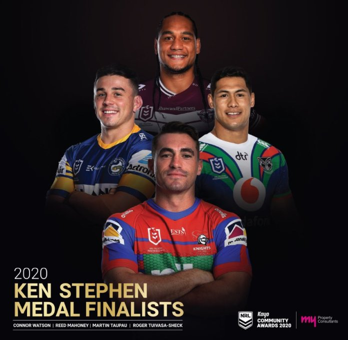Thank you so much for nominating @MartyKapow 🙏🏾❤️ 🦅 @SeaEagles and for the Club, it's fans and members amazing support throughout the drive. The impact it had on so many people in Samoa was so significant in their time of despair 🇼🇸 #ToaSamoa