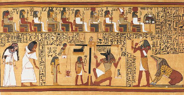 Ma'at was the Ancient Egyptian Goddess of truth, balance, cosmic order, justice and harmony