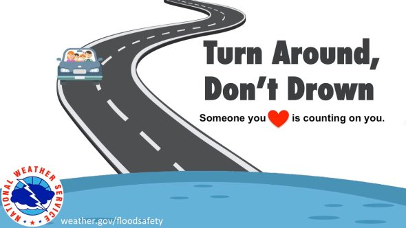 """NWS Wakefield on Twitter: """"[8:55 AM] There are multiple Flood and Flash  Flood Warnings in effect across the area. In addition, many roads are  impassible or closed due to high water. Remember"""