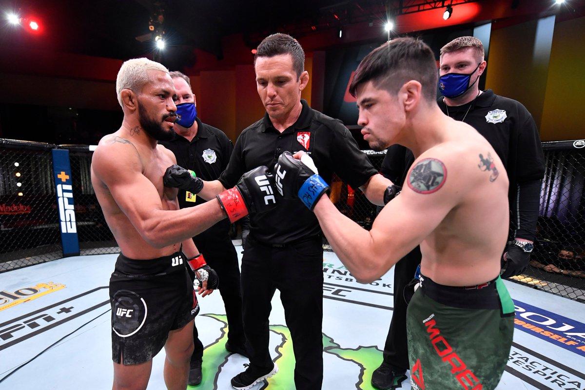 "Deiveson Figueiredo: ""I am sure that I will knock out Brandon Moreno"""