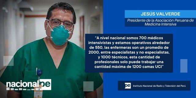 Resultado de imagen para Intensivista Jesús Valverde