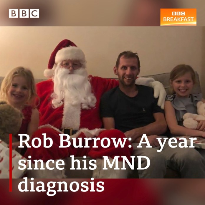 #OTD 3 weeks ago...it was Christmas Day!  🎄    And @bbcbreakfast - who followed him throughout 2020 - posted a special message from @leedsrhinos #rugbyleague hero @Rob7Burrow 💗 👀⬇️    Thank you to Rob, his family & friends and all @TheRFL family for such great support! 👏👏