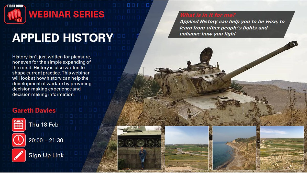 History - we learn to live with and learn from it. Ahead of our next webinar on #AppliedHisgory WHAT are the most valuable lessons you have learnt from our storied past and HOW would you apply them going forward? @DrAEFox @AhLessons @DefAcUK @HistoryWargames https://t.co/jgluTCyqKl