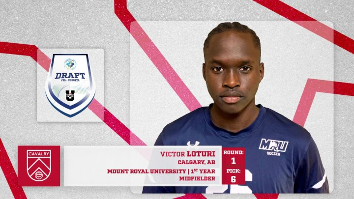 """CanPL on Twitter: """"With the 6th selection in the 2021 CPL - @USPORTSca  Draft, @CPLCavalryFC select midfielder Victor Loturi from @mountroyal4u  #CanPL… https://t.co/iwlBn6w63L"""""""