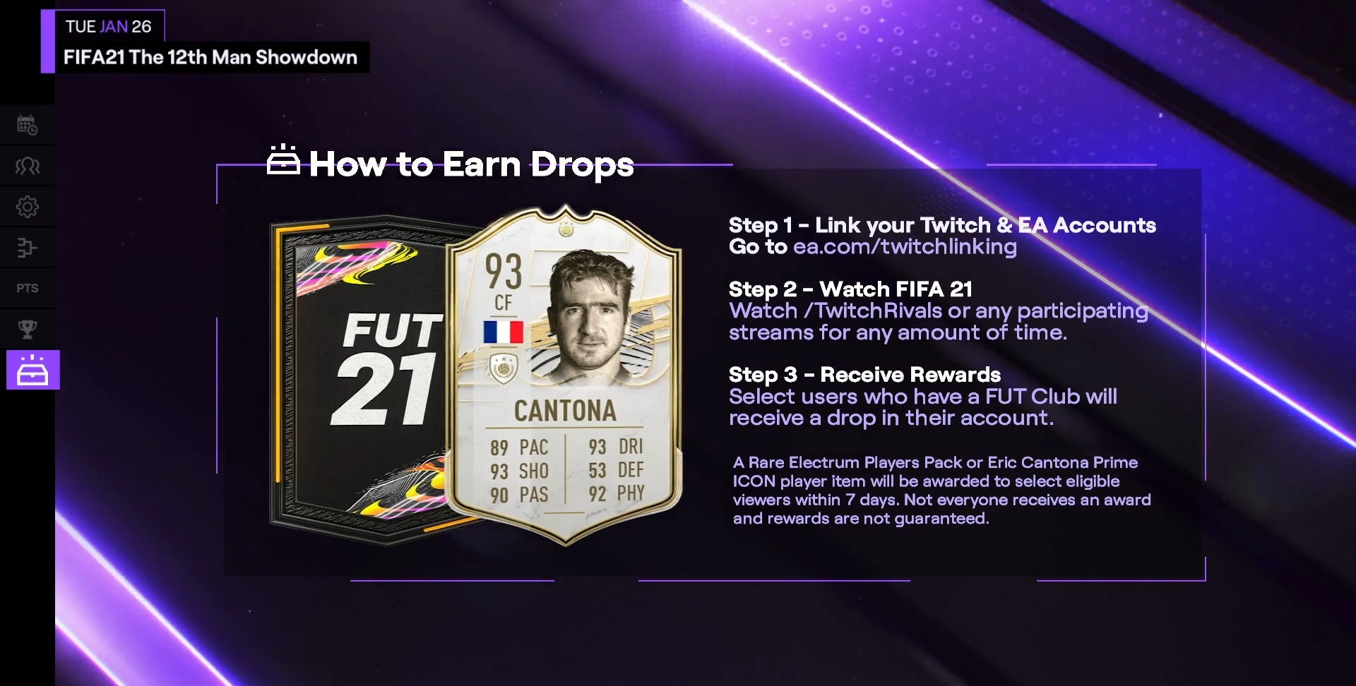 The controversial striker has been praised as the one who brought back the trophies to one of the world's most famous soccer clubs. Twitch Rivals On Twitter We Ve Got Fifa21 Drops Today For A Chance To Earn One 1 Link Your Twitch Ea Accounts Https T Co Tltzybv6iw 2 Watch The 12th Man Showdown At Https T Co Q8hdbsfuw4 Or
