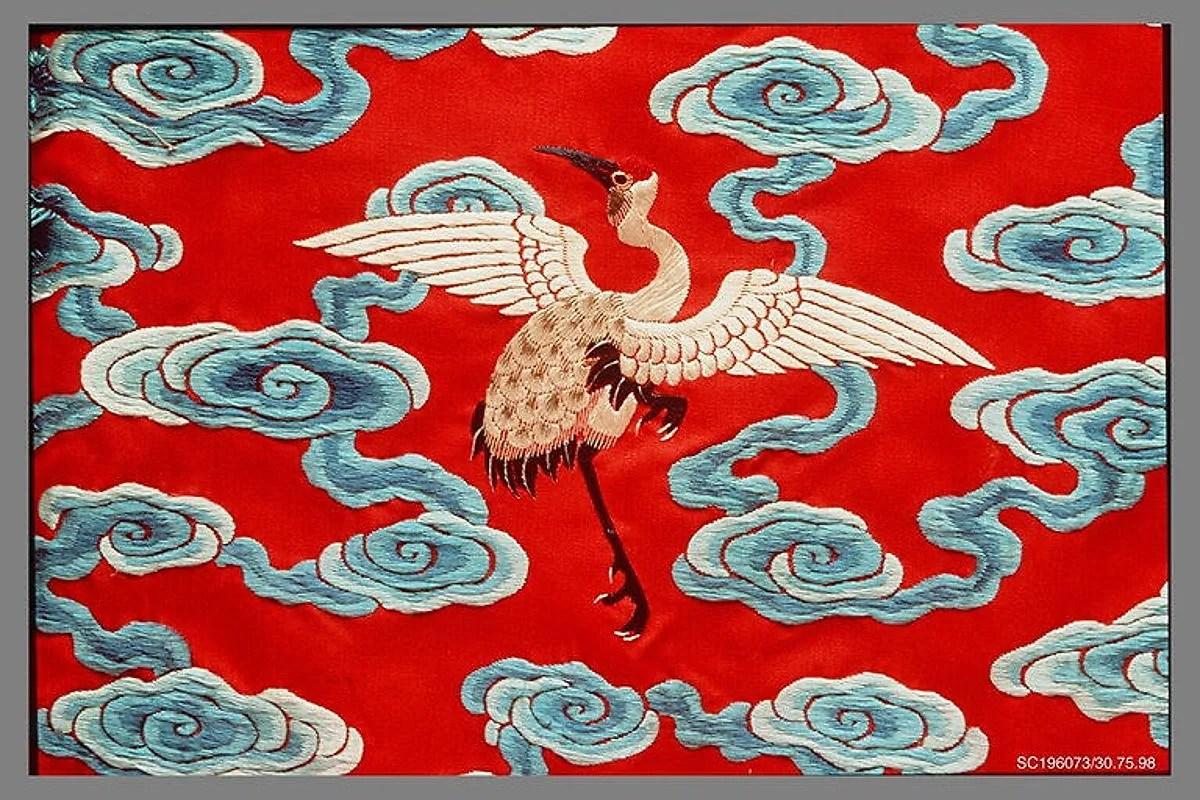Qing Dynasty robe (18-19th century) - Met Museum, Public Domain