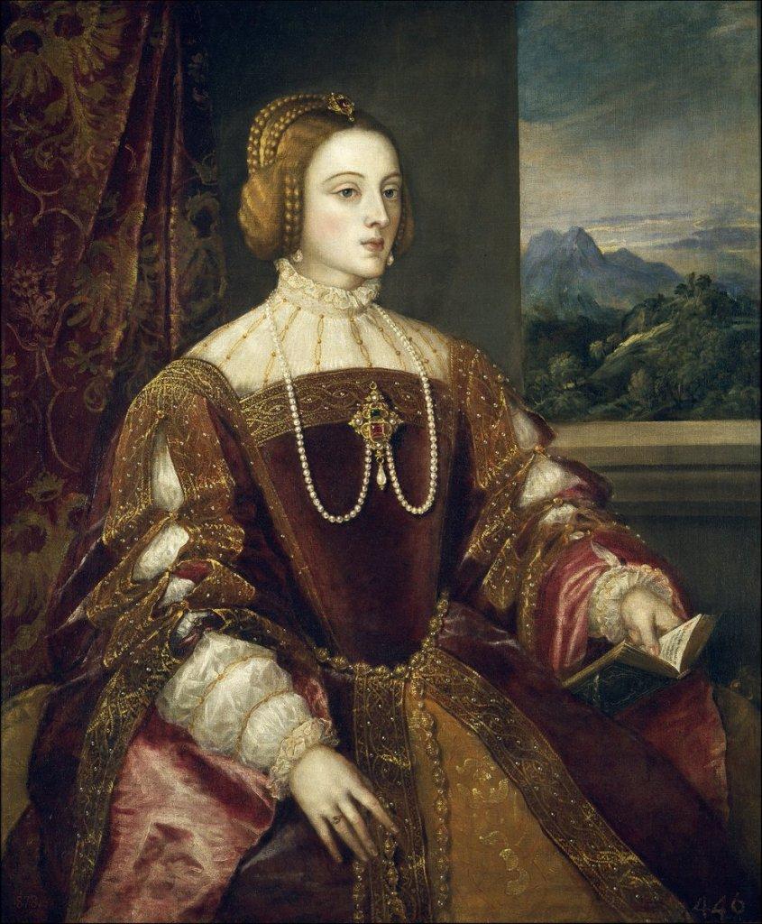 Empress Isabel of Portugal, Titian - 1548 - Public Domain