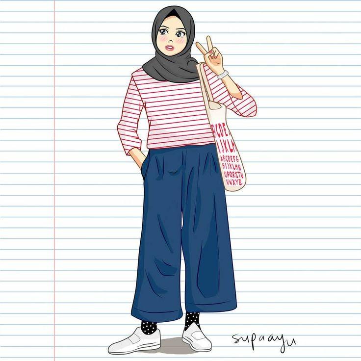 By arwan sabtu, 23 mei 2020 add comment edit. Wallpaper Aesthetic On Twitter Bagi Photo Profil Wa Hijab Cartoon Hijab Cartoon Cartoonhijab Lilac Likeforlikes Follow Retweet