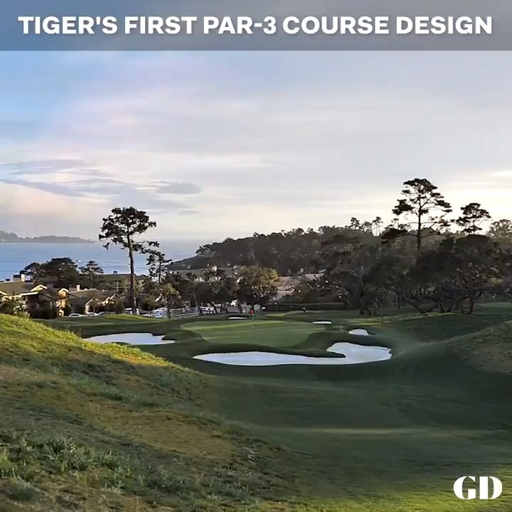 Image for the Tweet beginning: .@TigerWoods' new short course at