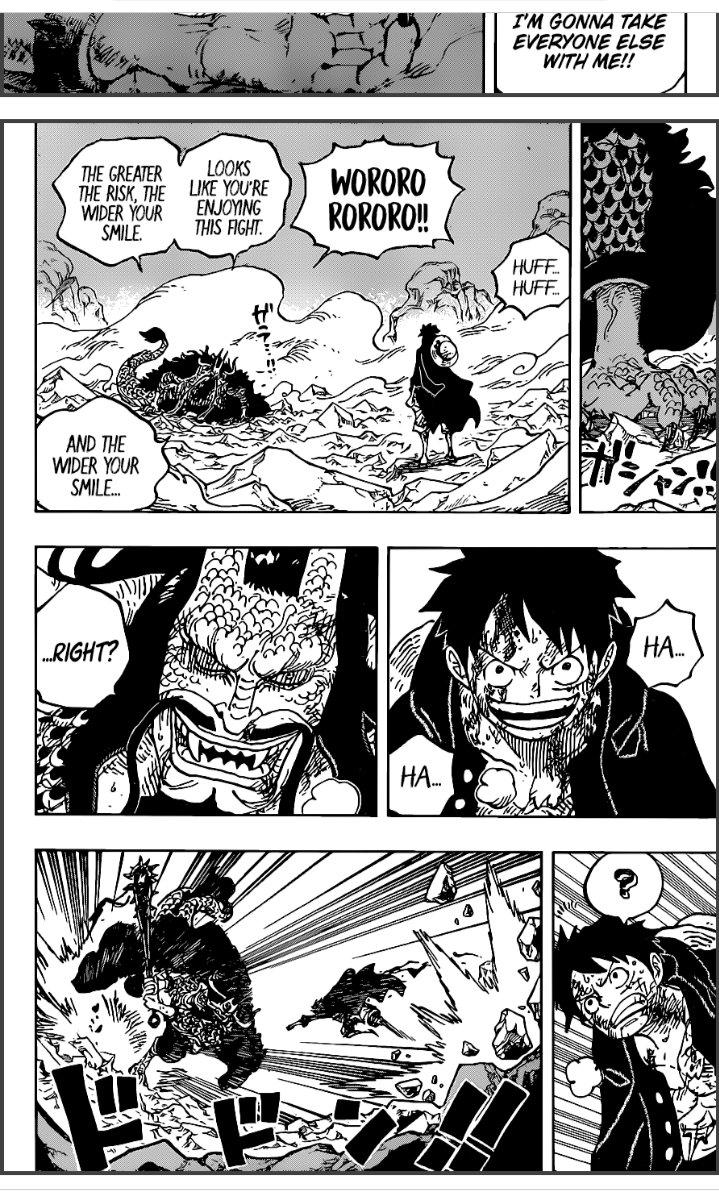Le dernier numéro du weekly shonen jump annonce une nouvelle pause pour one piece, le manga d'eiichiro oda, apparemment due à des problèmes de stress de. Luffy Vs Kaido Episode Berapa