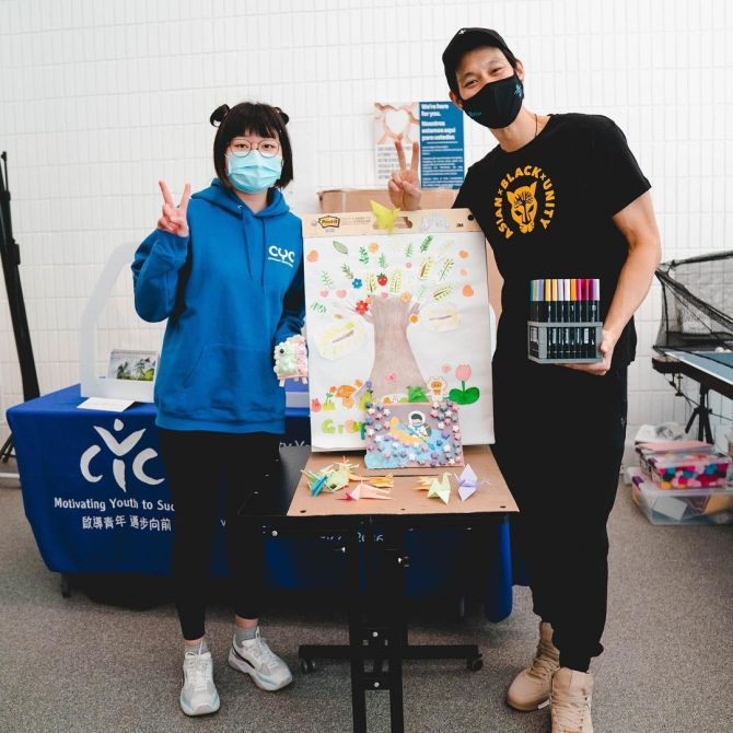 RT @penny10654 @JLin7 (Jeremy Lin 's IG) JOANNA is gregarious and legit smiled the entire time lol. ...! ZAVEON is soft-spoken and carries a gentle demeanor, .... My favorite part of my @cyc_sf visit was hanging w the youth in their in-person pods. In SF Chinatown,....! https://t.co/XmFHtfSvsO