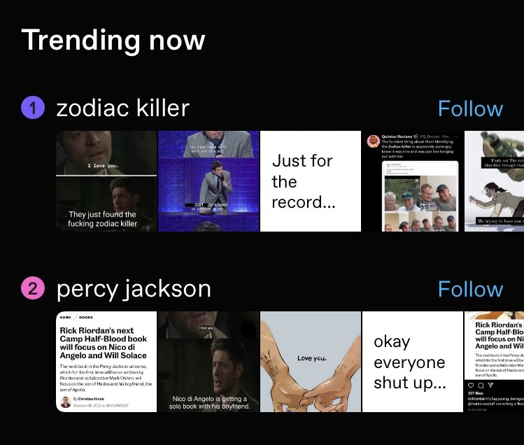 """It is believed that the zodiac killer is responsible for five brutal murders between 1968 and 1969, though he claimed to have killed 37 people. What's New """"Zodiac"""" Tweet Per Second"""