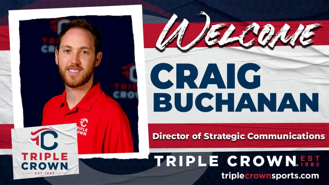 test Twitter Media - We are excited to add more talent in the office, gearing up for terrific college events this fall and another full-blast schedule of 2022 events -- please welcome Craig Buchanan to the TCS team!  PROFILE >> https://t.co/eHIF4kLb2i https://t.co/UGLhjqUCIw