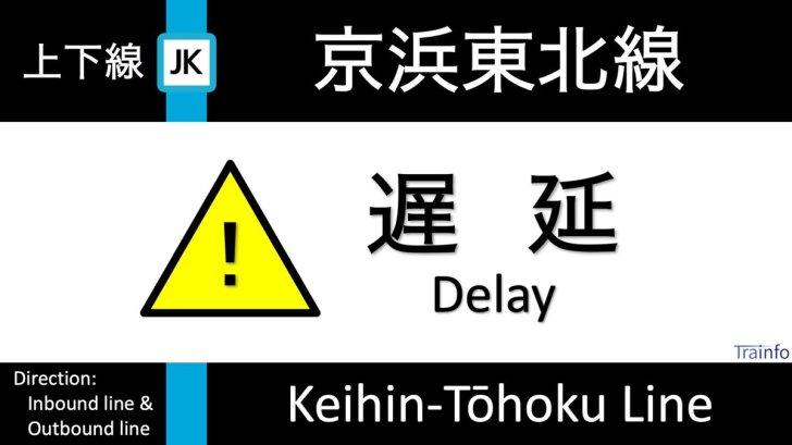 test ツイッターメディア - 【京浜東北線 上下線 遅延情報】 京浜東北線は、19:16頃、蒲田〜川崎での踏切内安全確認の影響で、蒲田以北の大宮方面行の一部列車と蒲田以南の大船方面行の一部列車に最大5分程度の遅れがでています。根岸線区間への影響は、ほぼない見込みです。 https://t.co/DJEggTACL8