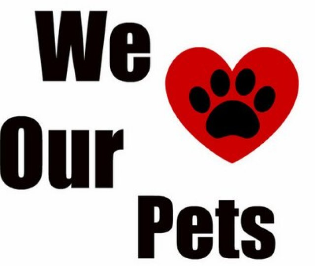 We Love Our Pets