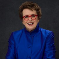 Billie Jean King (@BillieJeanKing )