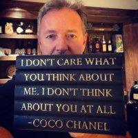 Piers Morgan (@piersmorgan )