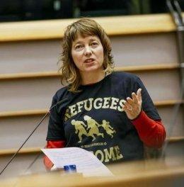 Afbeeldingsresultaat voor Malin Bjork eu refugees welcome