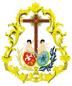 Escudo Resurrección Linares (Fuente: Twitter de la Hermandad)