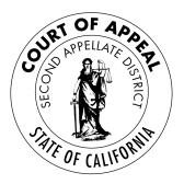 Resultado de imagen de california court appeal seal