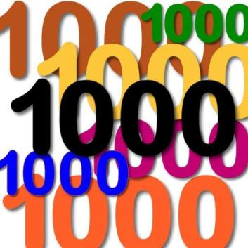 Image result for 1000