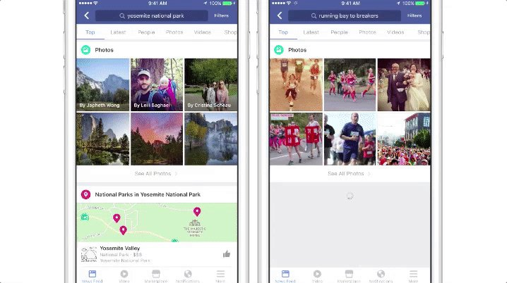 #facebook's #ai search lets you find images by content