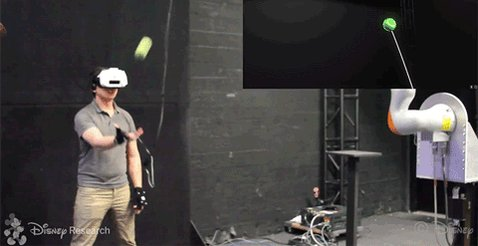 Watch this guy catch a virtual reality ball that turns out to be real