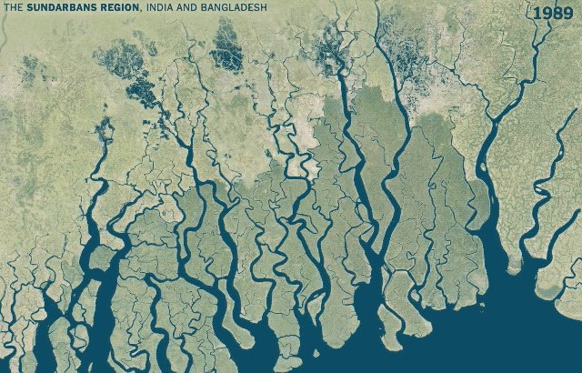 Mapping three decades of changes to the world's rivers, lakes and other water bodies: