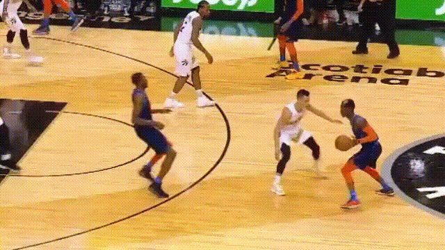 190322 VS OKC Q4 10:44 Thunder's Schroder hit @JLin7 with his elbow on his drive and the ref no. 63 let him get away from offensive foul or even an unsportsmanlike foul. @NBAOfficial @NBA