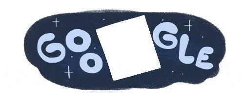 Image for the Tweet beginning: ✨Space-cial #GoogleDoodle Alert✨