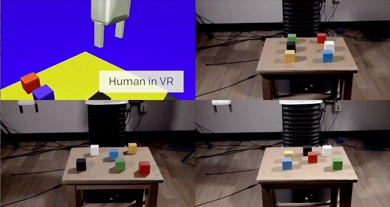 Robots that Learn  via @OpenAI #robotics #AI #machinelearning #VR
