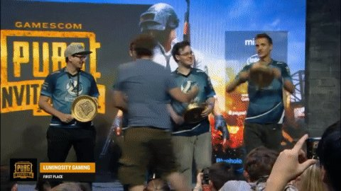Raise those golden pans @Luminosity! #Battlegrounds https://t.co/c7Wb6POcAh
