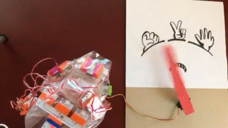 Building a rock-paper-scissors machine with TensorFlow: