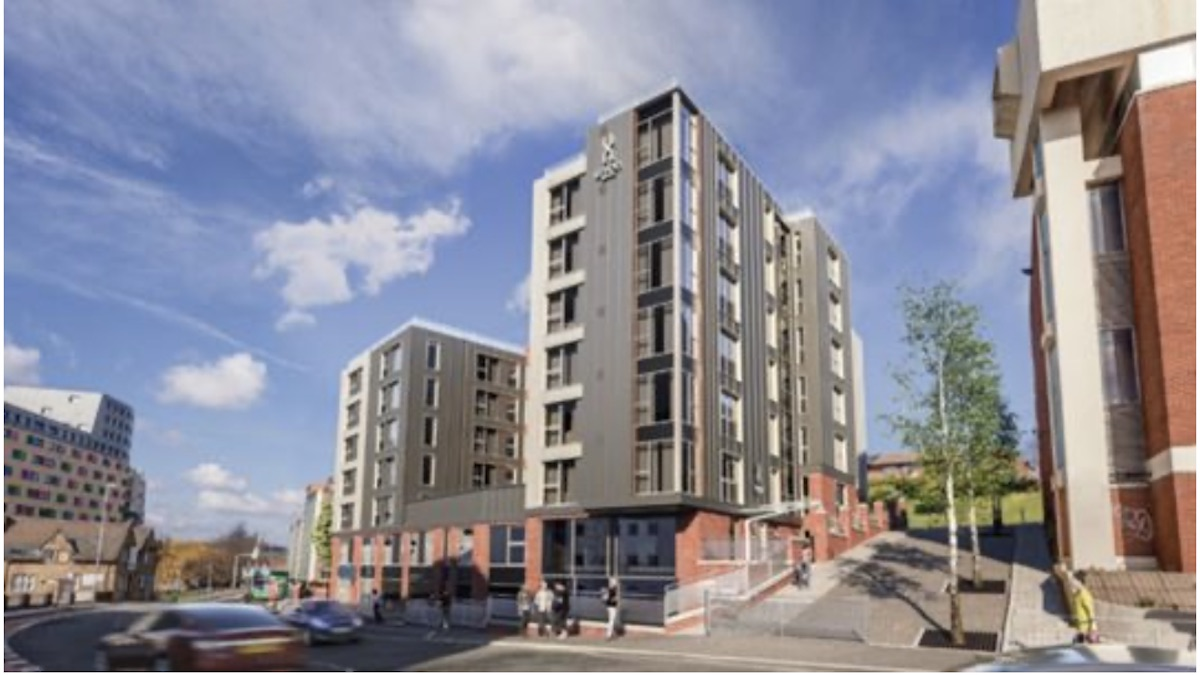 Union purpose-built student accommodation (PBSA) scheme - Tolent | PBSA News