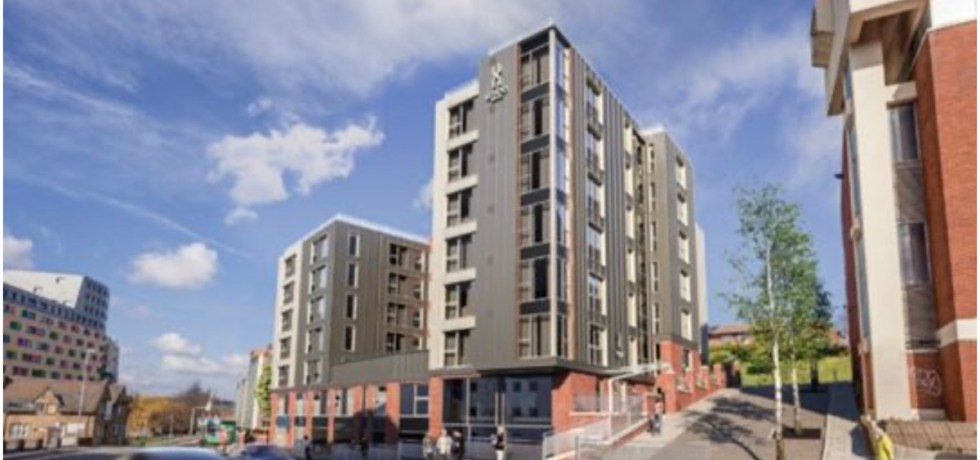 Union purpose-built student accommodation (PBSA) scheme - Tolent | PBSA News