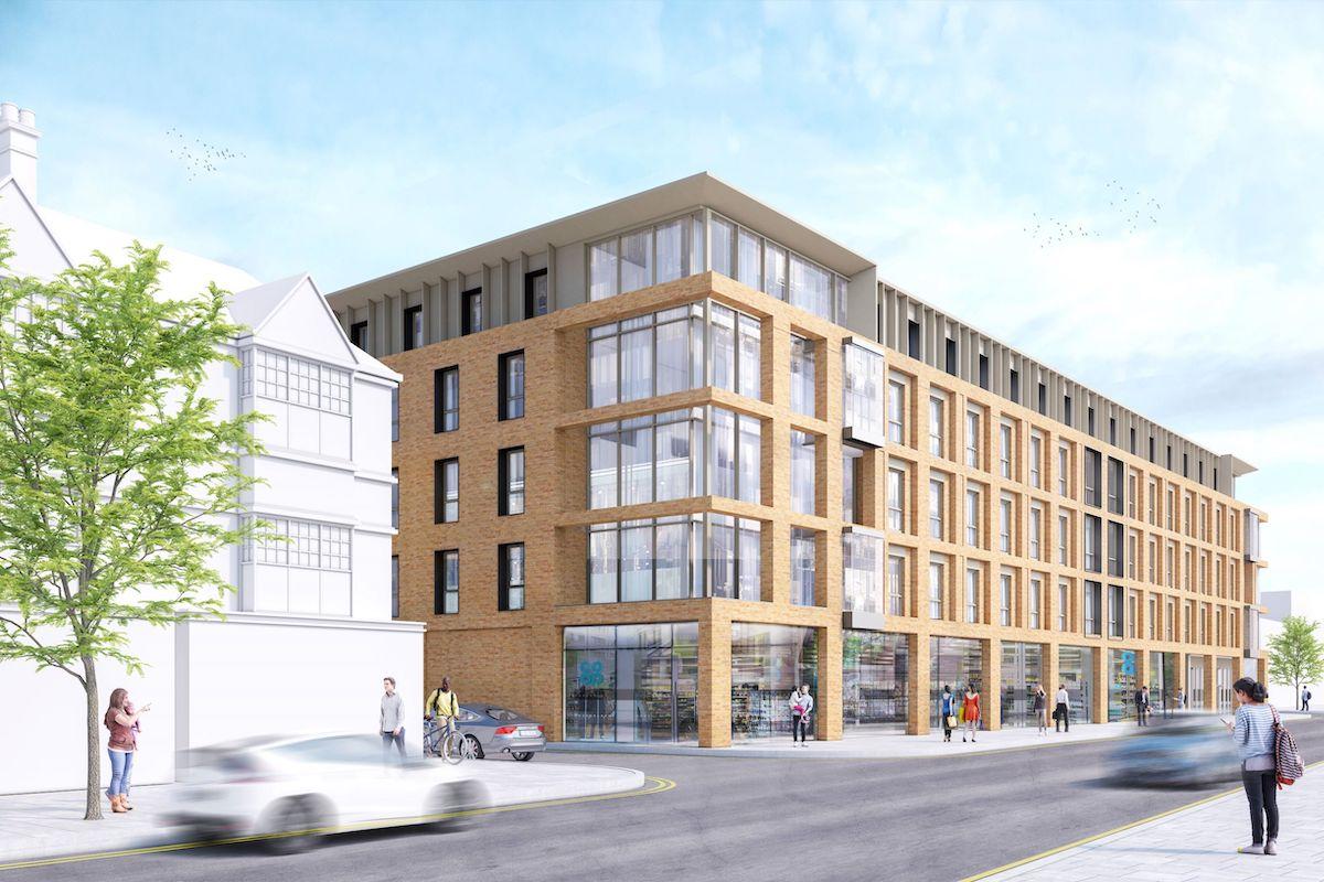 PBSA scheme on London Road, Brighton - Curlew Capital | PBSA News